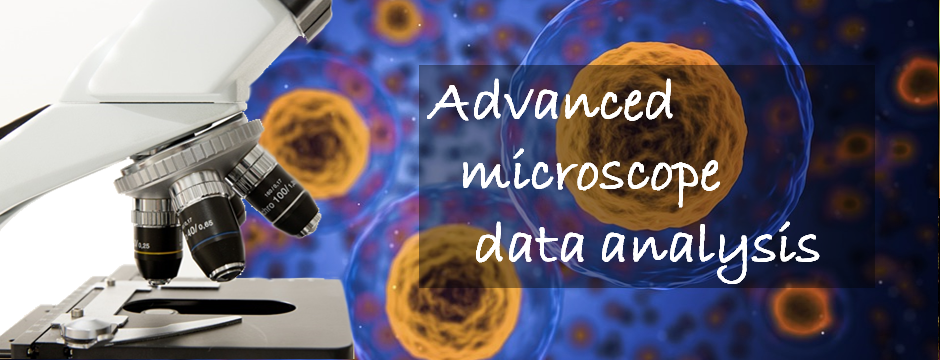 Microscope data analysis